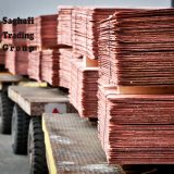 Copper Cathode, Saghafi Trading Group Inc. with logo